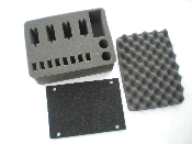 3pc Die Cut Foam Set 4 Pistol Fits 540