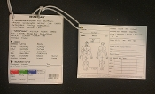 Tactical Combat Casualty Documentation Card