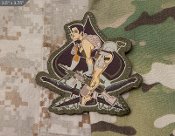 Aces High Pinup Patch