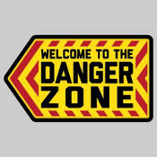 Danger Zone Sticker