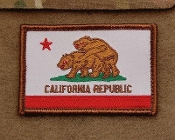 "California ""Two Bears""  Flag"